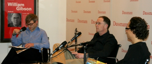 William Gibson bei Dussmann